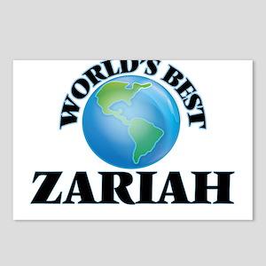 World's Best Zariah Postcards (Package of 8)