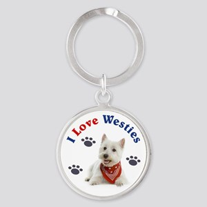 I Love Westies 111 Keychains