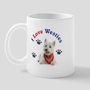 I Love Westies 111 Mugs