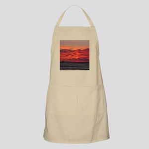 Fire Sunset Lk Superior Apron