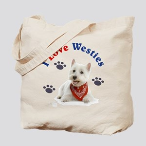 I Love Westies 111 Tote Bag