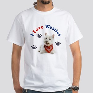 I Love Westies 111 T-Shirt