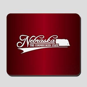 Nebraska State of Mine Mousepad