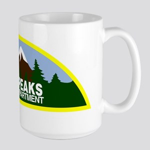 Twin Peaks Sheriff Department Large Mug