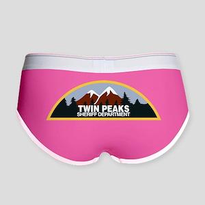 Twin Peaks Sheriff Department Women's Boy Brief