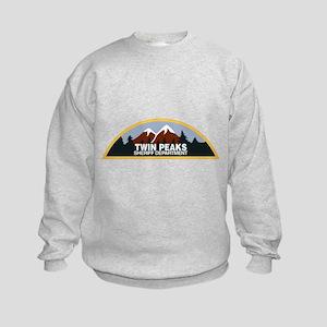 Twin Peaks Sheriff Department Kids Sweatshirt