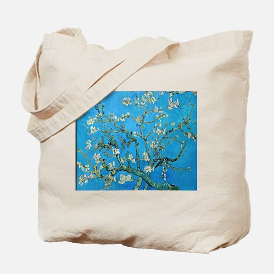 Van Gogh: Almond Blossoms Tote Bag