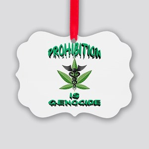 Prohibition is Genocide Ornament