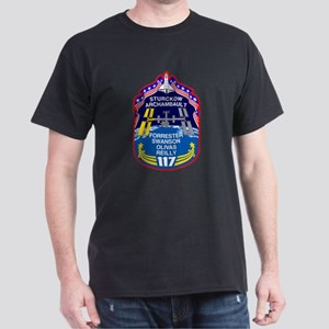 Shuttle Mission 117 Patch Dark T-Shirt