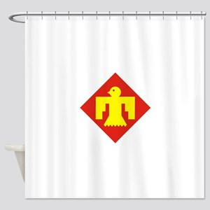 45th Infantry Division Shower Curtain