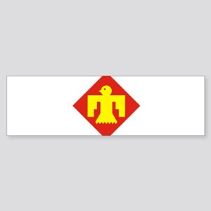 45th Infantry Division Bumper Sticker