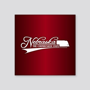 Nebraska State of Mine Sticker