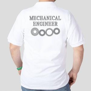 Mechanical Engineer (back) Golf Shirt