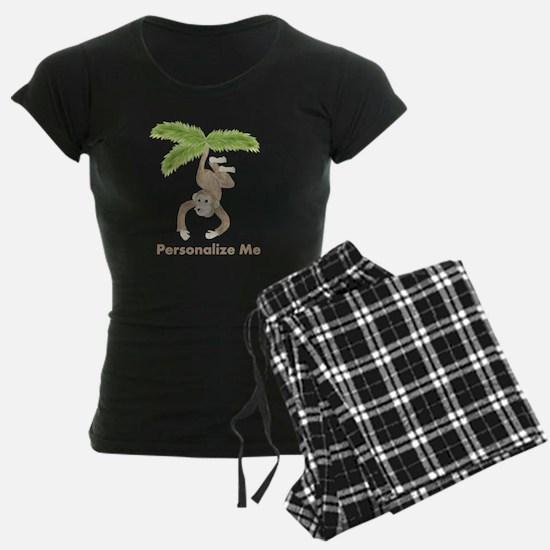 Personalized Monkey Pajamas