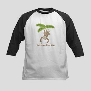 Personalized Monkey Kids Baseball Jersey