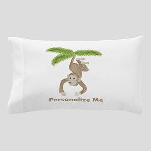 Personalized Monkey Pillow Case