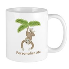 Personalized Monkey Mug