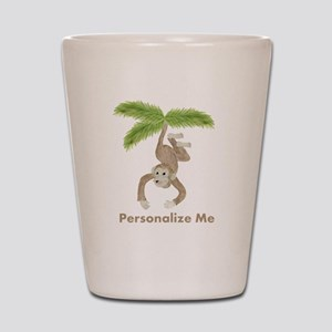 Personalized Monkey Shot Glass