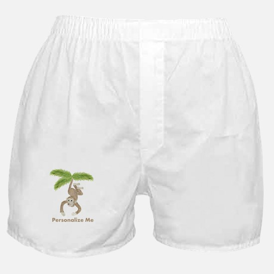 Personalized Monkey Boxer Shorts