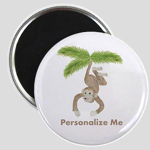 Personalized Monkey Magnet