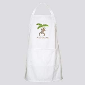 Personalized Monkey Apron