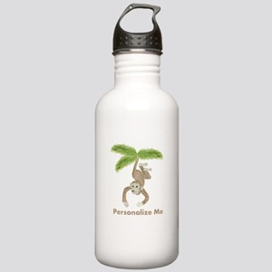 Personalized Monkey Stainless Water Bottle 1.0L