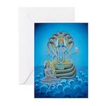 Vishnu & Lakshmi Massage Cards (Pk of 10)