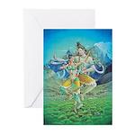 Shiva & Parvati Greeting Cards (Pk of 10)