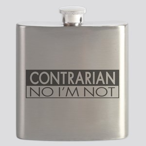 Contrarian No I'm Not Flask