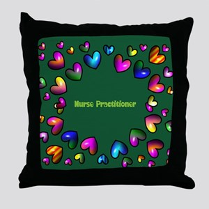 Nurse Practitioner Throw Pillow
