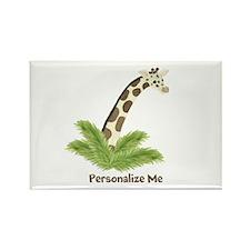 Personalized Giraffe Rectangle Magnet