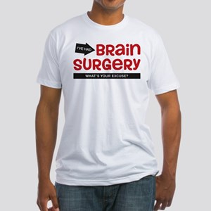 Brain Surgery Fitted T-Shirt
