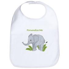 Personalized Elephant Bib