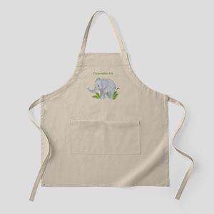 Personalized Elephant Apron