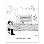 Energy Cartoon 7164 Small Poster