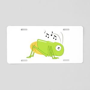 Musical Cricket Aluminum License Plate