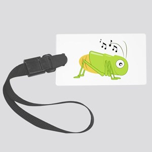 Musical Cricket Luggage Tag