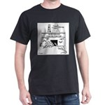 Energy Cartoon 1742 Dark T-Shirt