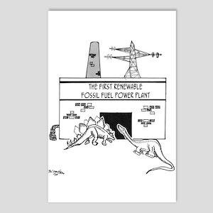 Energy Cartoon 1742 Postcards (Package of 8)