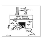 Energy Cartoon 1742 Small Poster