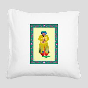 merchant Square Canvas Pillow