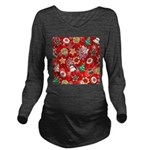 Christmas Cookies Long Sleeve Maternity T-Shirt