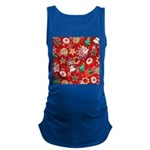 Christmas Cookies Maternity Tank Top
