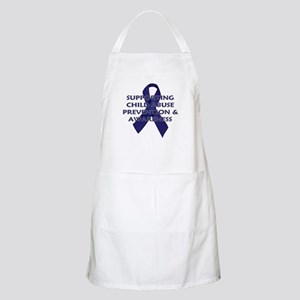 ...Child Abuse Ribbon... BBQ Apron
