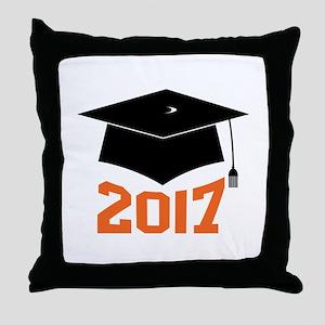 2017 Graduate Throw Pillow