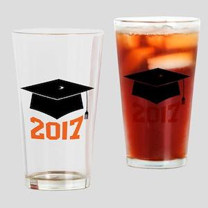 2017 Graduate Drinking Glass
