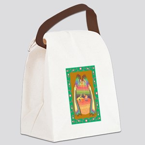 cave of jewels Canvas Lunch Bag