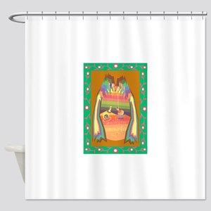 cave of jewels Shower Curtain