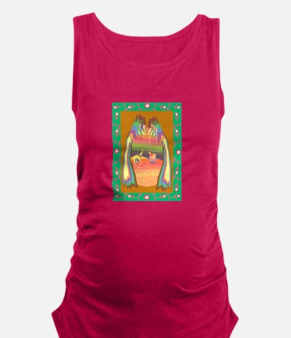 cave of jewels Maternity Tank Top