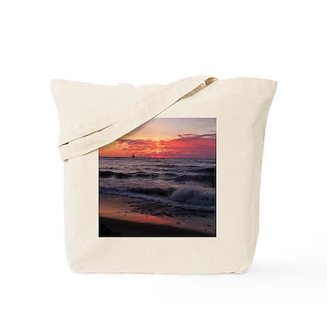VIDA Tote Bag - Lake Michigan Sunset by VIDA yLtzll